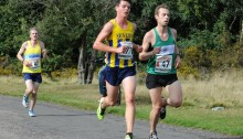 Rich Simkiss at Midland 6 Stage Road Relays 2013