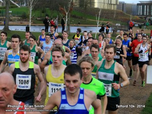 A twisted vest strap invariably cost Simkiss a PB @ Telford 10k 2014