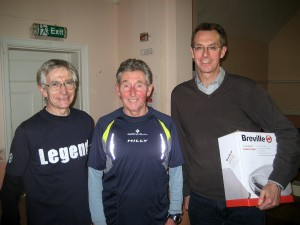 Merv and Tony, MCKEP's most Senior backroom staff with Ron and the Breville