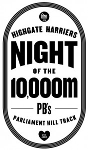 Highgate Harriers Night of the 10000m PBs