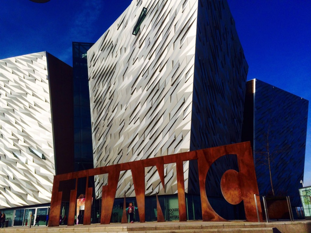 Titanic Museum... Worthy of a photo... almost.