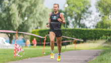 Simkiss Sets a new Course Record at Stratford Parkrun. Photo courtesy of Sam Allard